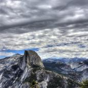 Fantastic View Of Yosemite Park Hdr HD Desktop Background